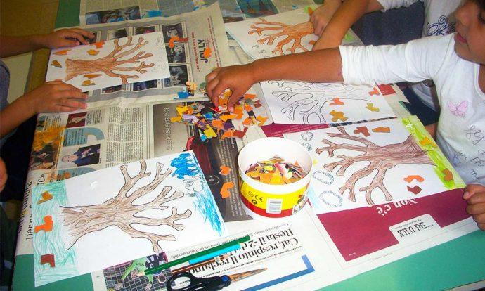 laboratorio creativo asilo Quiliano