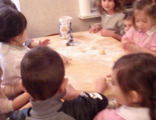 Laboratorio di cucina - Asilo Vadone Quiliano