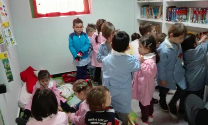Bambini Biblioteca Asilo Quiliano